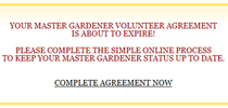Reappointment Box for UC Master Gardener Program Statewide Blog Blog