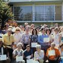 The first graduating class of UC Master Gardener volunteers in Sacramento County.