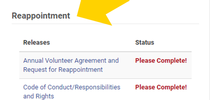 Screenshot of Reappointment for UC Master Gardener Program Statewide Blog Blog