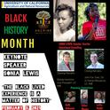 Black History Month Flyer 2021