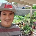 Cesar Lopez-Barreras became a UC Master Gardener volunteer in 2020 and has been instrumental in addressing and supporting his community's needs by building partnerships and establishing community and school gardens and workshops.