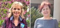 Julie Bowen (left) and Aliya Nayless (right) for UC Master Gardener Program Statewide Blog Blog