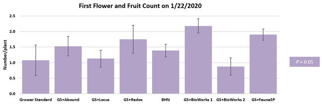 Flower and fruit count