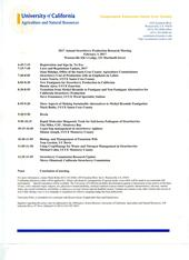 2017 February 3 Annual Strawberry Production Research Meeting