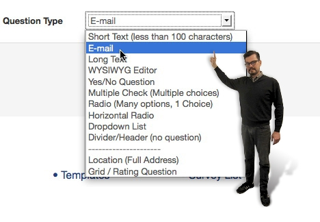 Email question type = AWESOME