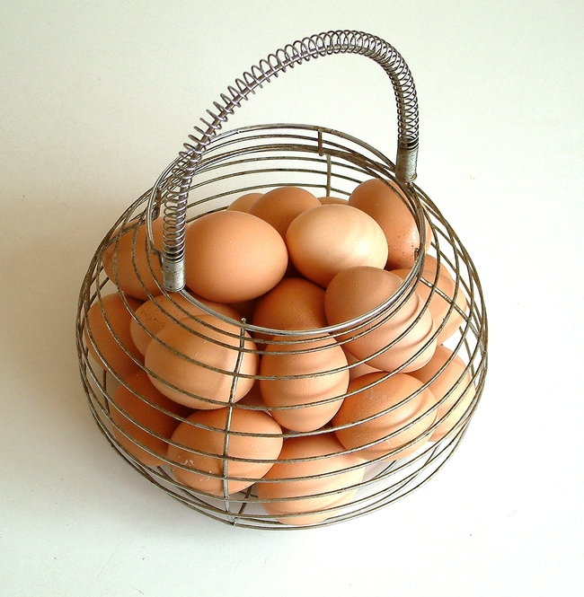 Eggs in Basket (Morguefile.com)