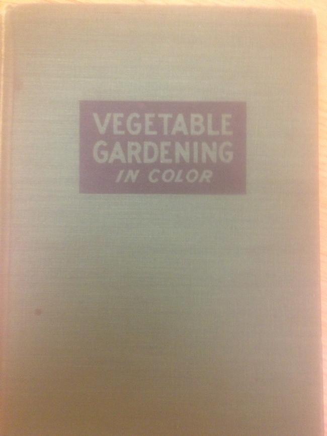 Garden book. (Photo by Ken Williams)