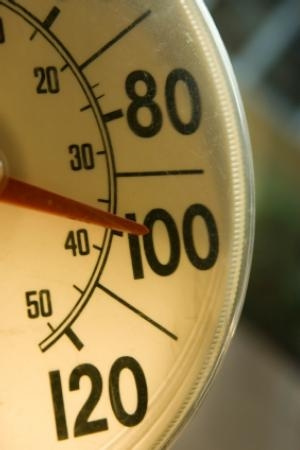 The need for heat illness prevention increases as the temperature rises.
