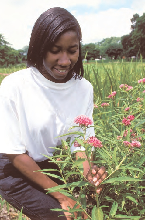Backyard Conservation from NRCS can help people create beautiful and healthy environments! Photo from NRCS resource.