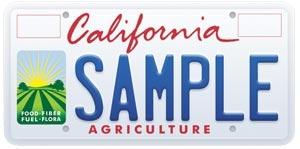 AG license plate