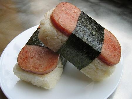 Tasty SPAM-musubi
