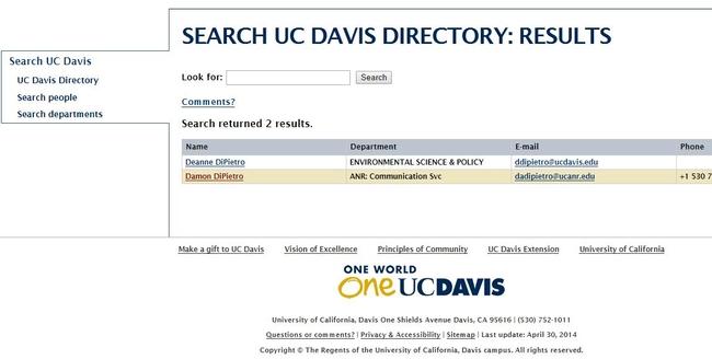 Dir UC Davis