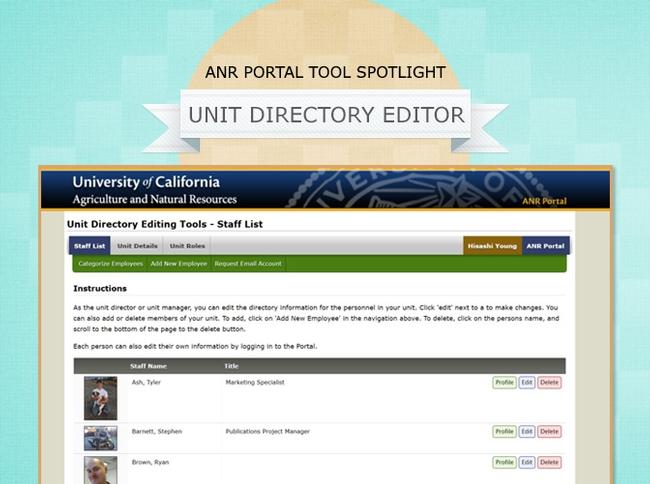 unit directory editor tool image