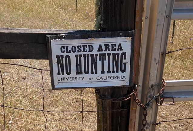 no hunting s