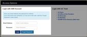 Portal Account Login Highlighed
