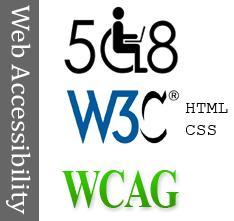 508 W3C WCAG HTML CSS