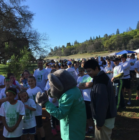 El Dorado participants wait for the run to start!