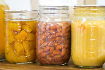 Pressure Canned jars