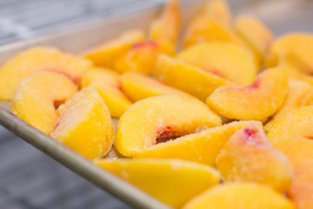 MFP Frozen peaches