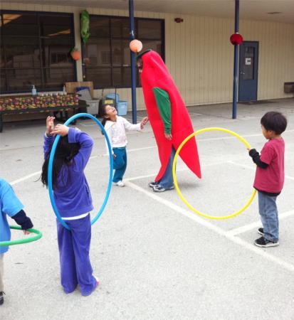 Hula Hoop, Health Fair