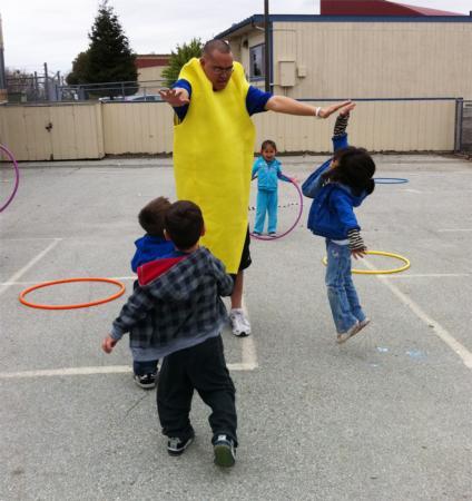 Jumping - Health Fair at School