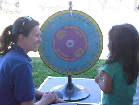 Health Fair, Nutrition Wheel