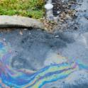 Oil Spill into Neighborhood Water Drainage System