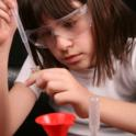Girl Conducting Science Experiment