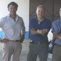 Experimental olive harvest: Team at the end of trial: Uriel Rosa, Sergio Castro, Francisco Lopez, Jose Mourelle, Paul Vossen, Bill Krueger