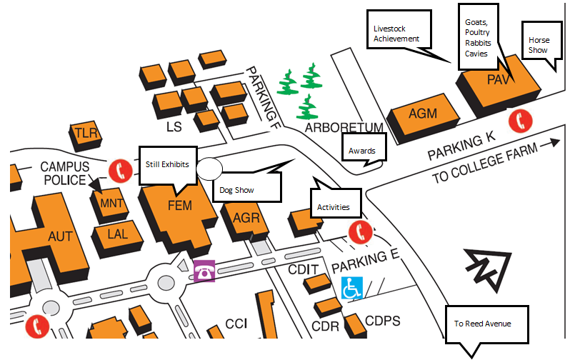 Reedley College Map Reedley College Campus Map | woestenhoeve