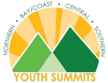 Logo for 4-H Youth Summits - Northern, Bay/Coast, Central and Southern