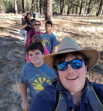 2019 Youth Summit-South hike