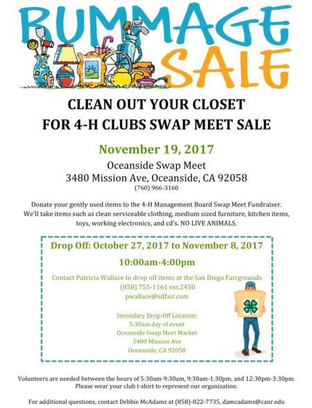 November Rummage Sale Image