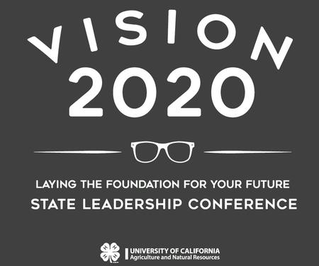 Vision 2020 State Leadership Conference logo