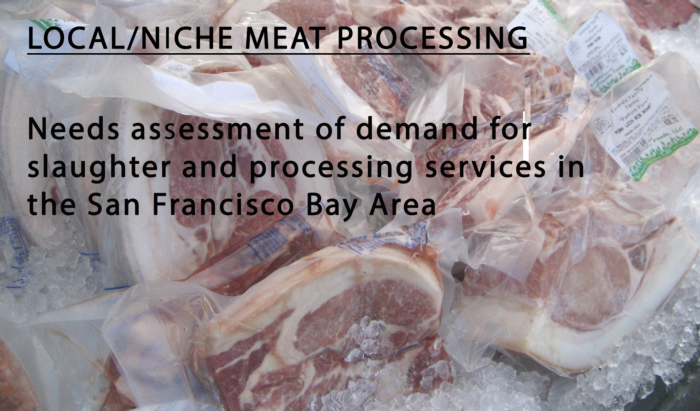 East and South Bay Meat Processing Needs Assessment