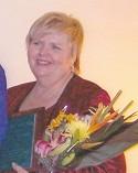 Peggy Gregory 2006 Meritorious Service Award Recipient