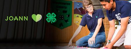 JOANN heart 4-H Partnership - adult and youth