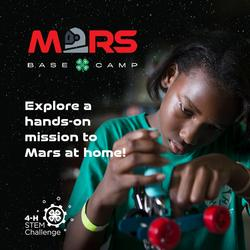 Mars Basecamp post with youth