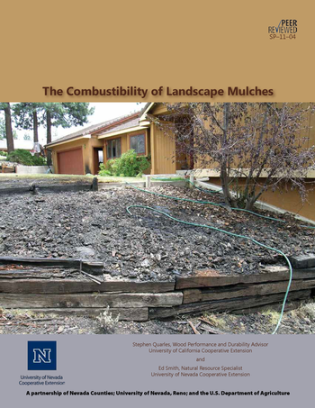 Download the Combustibility of Landscape Mulches publication