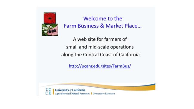 Farm Business and Market Place Picture
