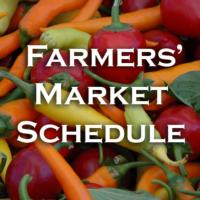 Farmers Market Schedule Icon New copy