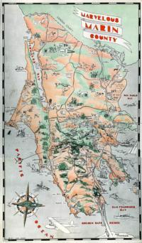 Marvelous Marin Map