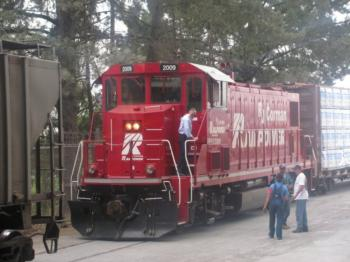 Northwestern Pacific Railroad Company in 2011 (Courtesy of Dairyman's Feed & Supply Company).