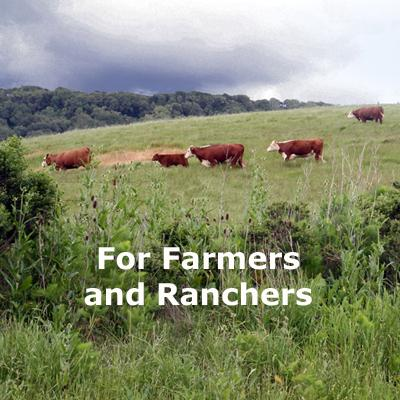 For Farmers and Ranchers