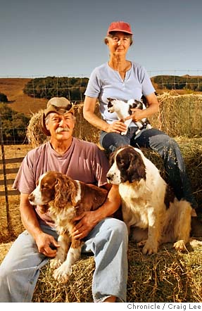 Mike and Sally Gale, of Chileno Valley Ranch
