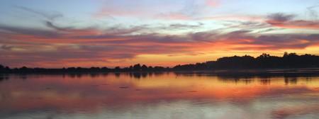 Sunset, Bolinas Lagoon