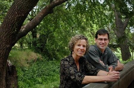Ellie Rilla and Dave Lewis