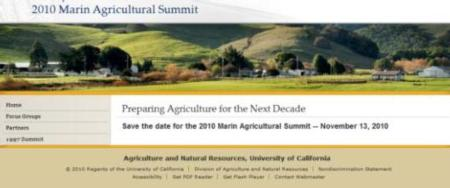 2010 Agricultural Summit
