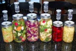 fermented-food-in-equipment-jars