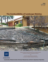 The Combustibility of Landscape Mulches
